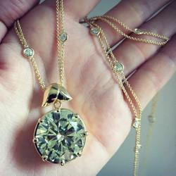 Redesign of Diamond Pendant