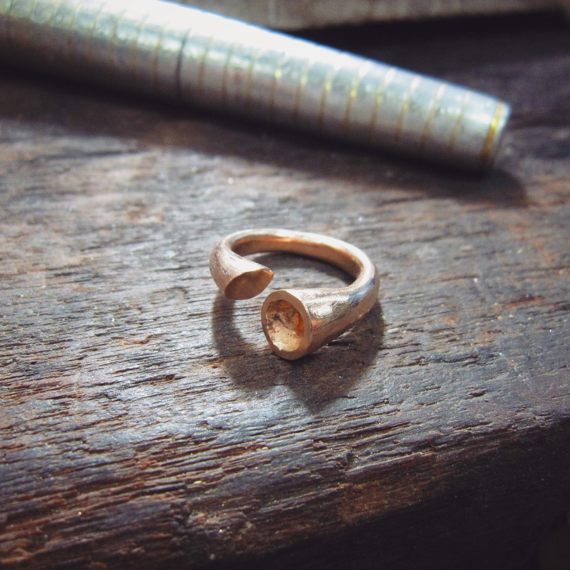 Handcrafted Engagement Ring