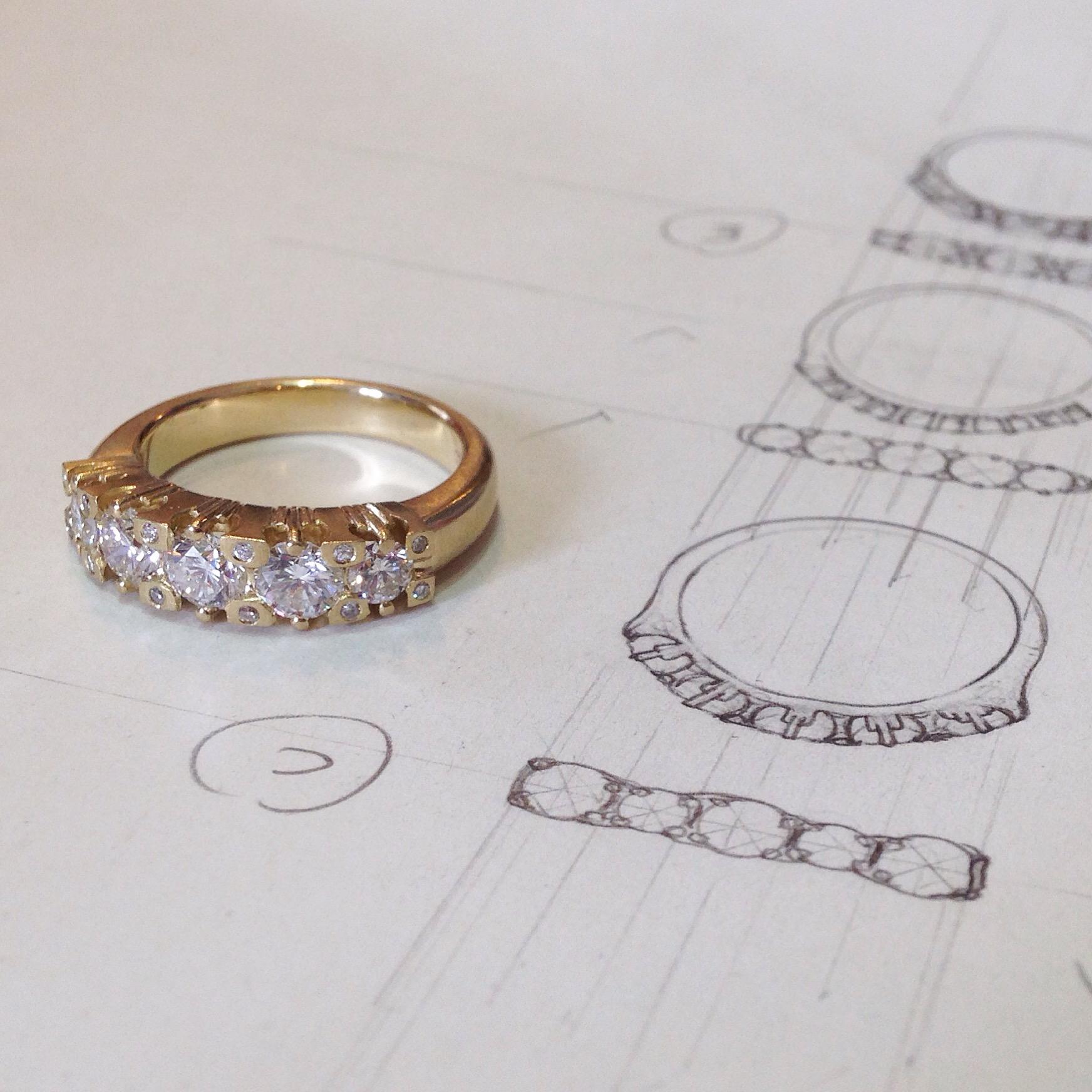 5-Stone Ring