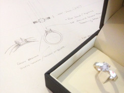 Engagement Ring sketch