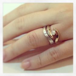 Custom Designed Wedding Ring