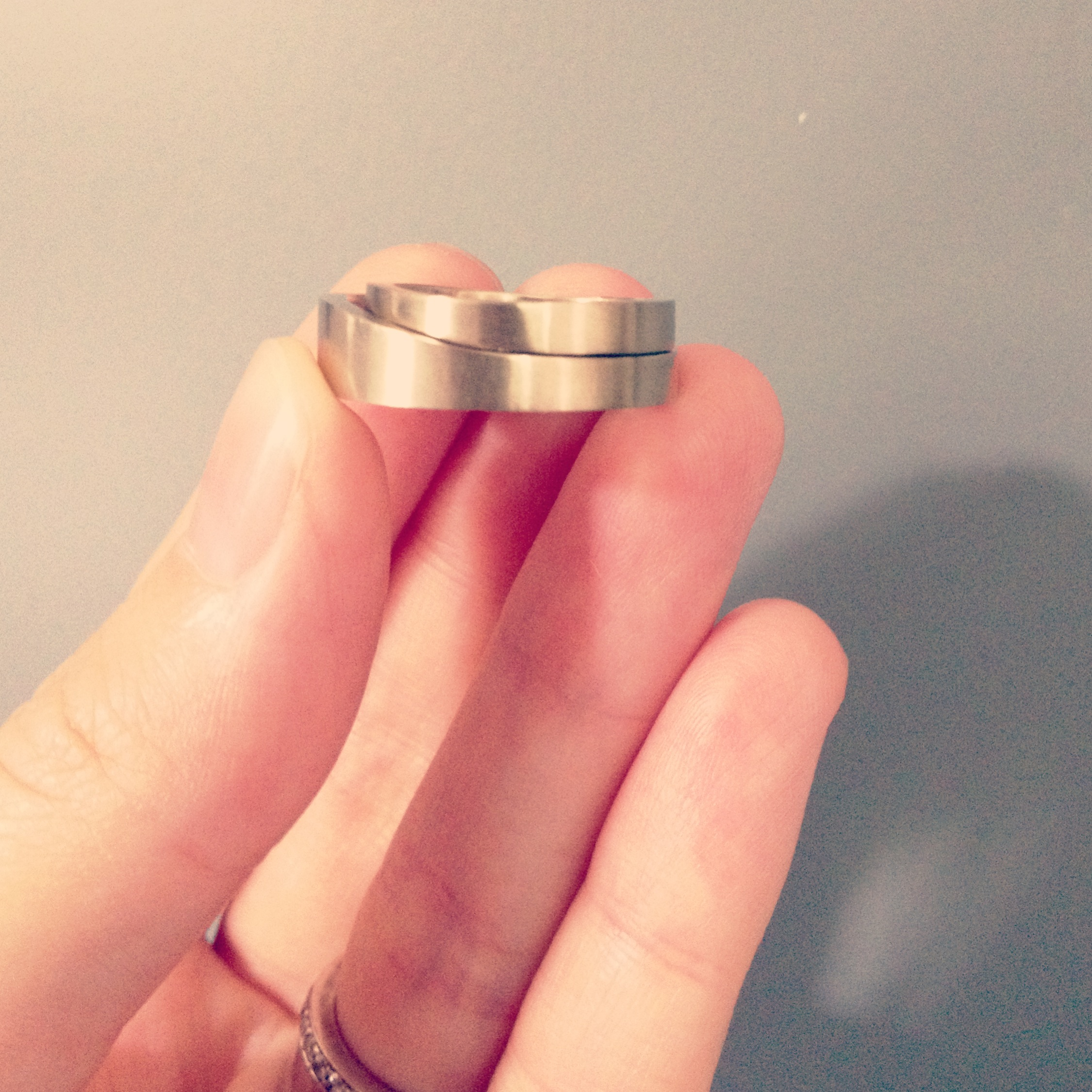 Spoon Wedding Rings