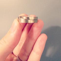 Spoon Wedding Rings