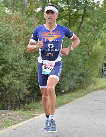 Gabor at the race of Balatonman