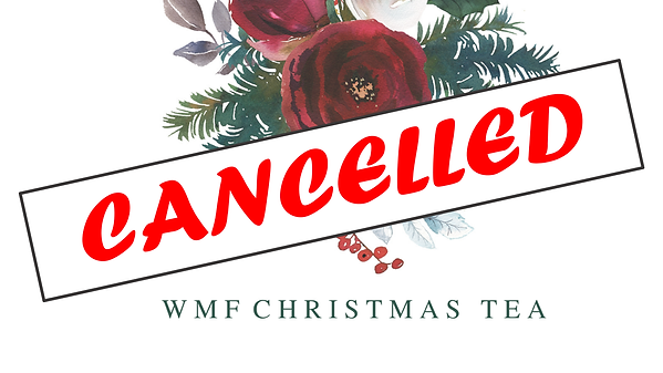 2020.11.23 Christmas Tea Cancelled banne