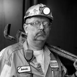 Artistic Magazine Photography, location business portraits, Black & White Photography, John Sibold, photographer, coal mine, industrial, aeral photos