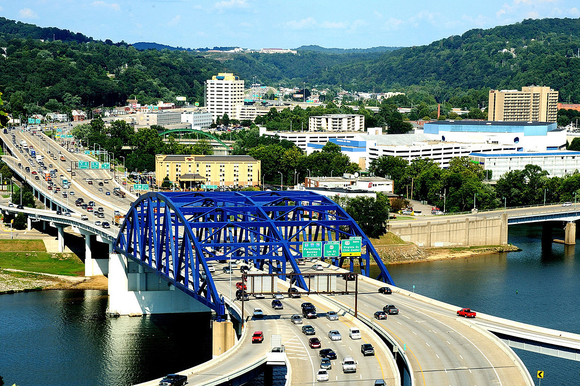 how to get to charleston west virginia