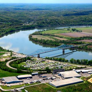 Aerial Photography, West Virginia, Charleston, John Sibold, Photographer,