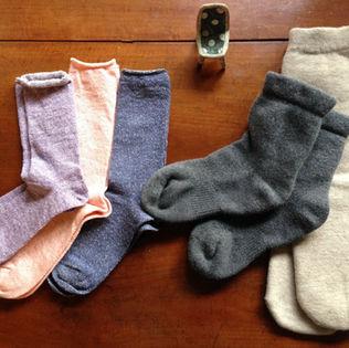奈良のあったか靴下