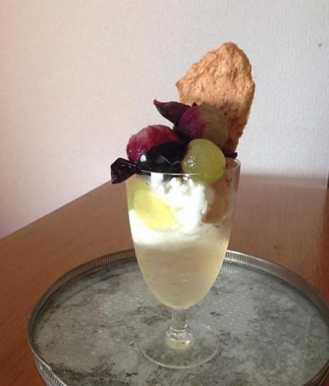 スノウドロップ 葡萄6種のパフェ