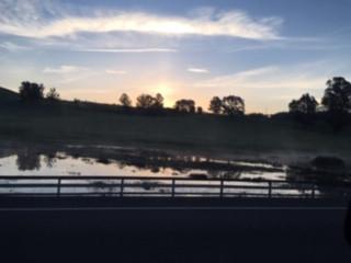 Sonoma County Sunrise over Petaluma