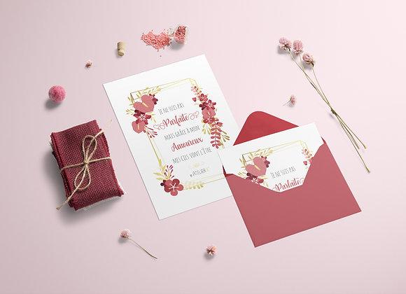 Carte cadeau Amoureux