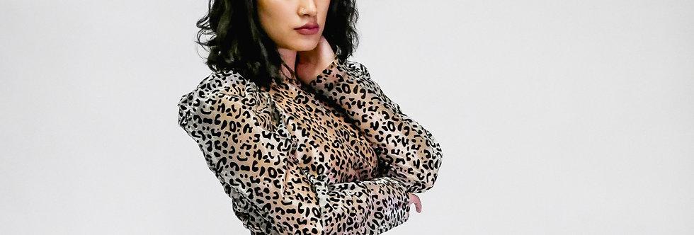 Cheetah in the Night Top