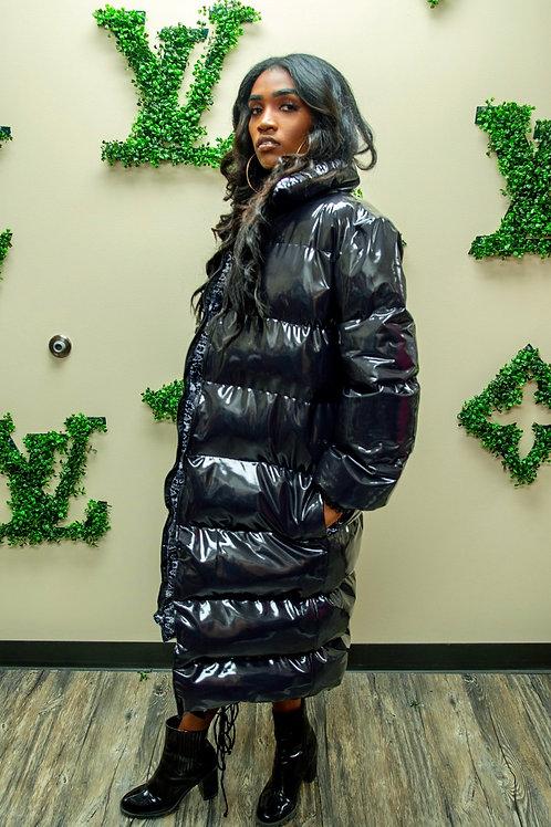 Gray Maxie bubble coat