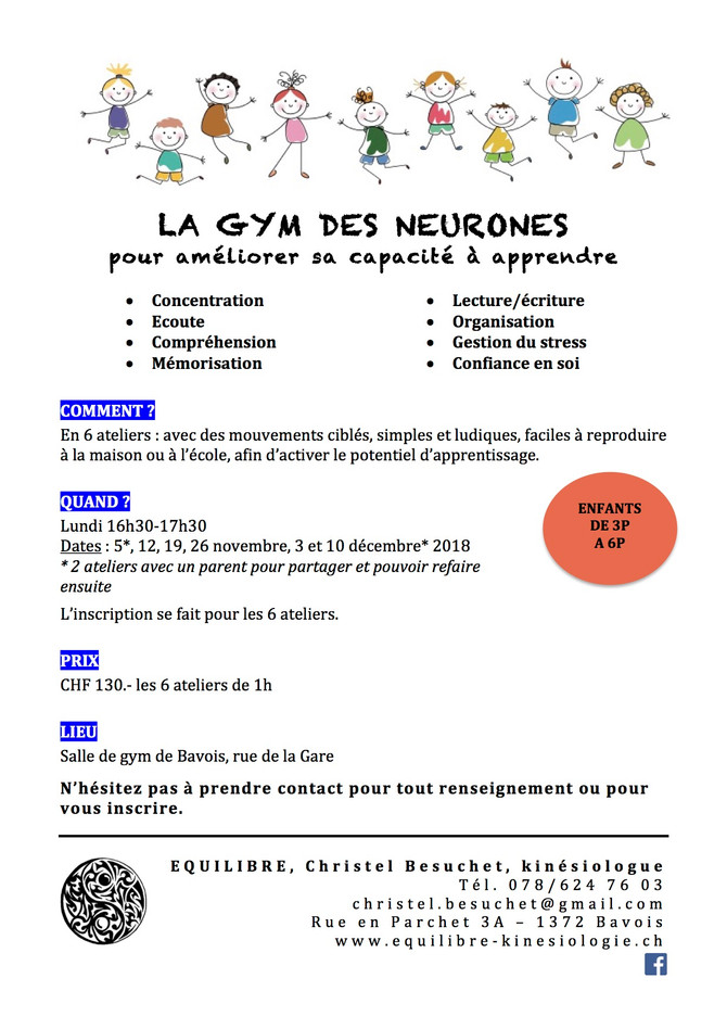 LA GYM DES NEURONES