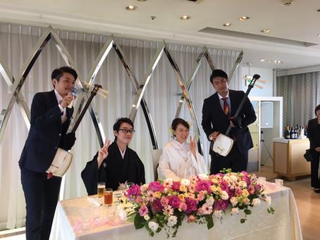 結婚式in高崎