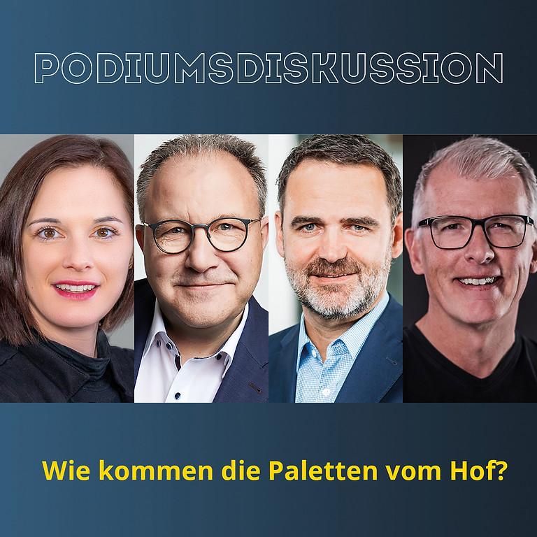 """""""Die Paletten müssen vom Hof"""""""