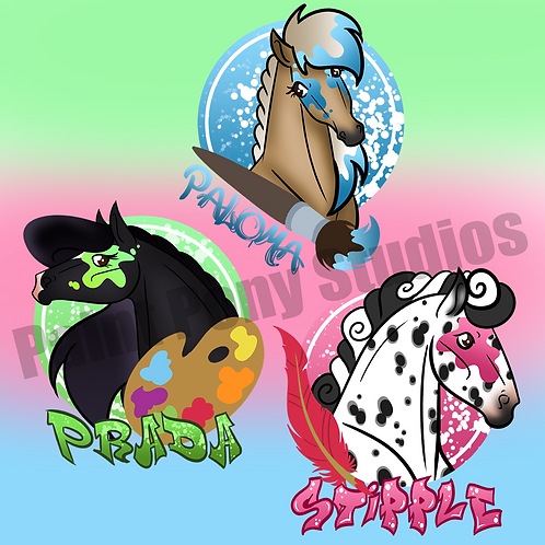 PPS Mascot Stickers