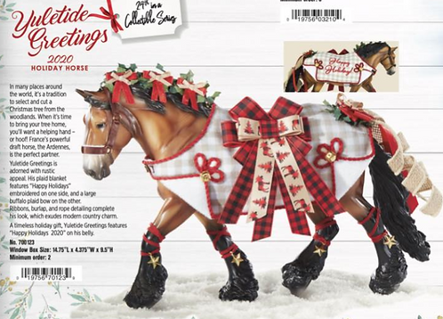 Yuletide Greetings - 2020 Holiday Horse