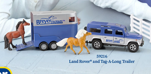 Breyer Farms Stablemate Truck & Trailer