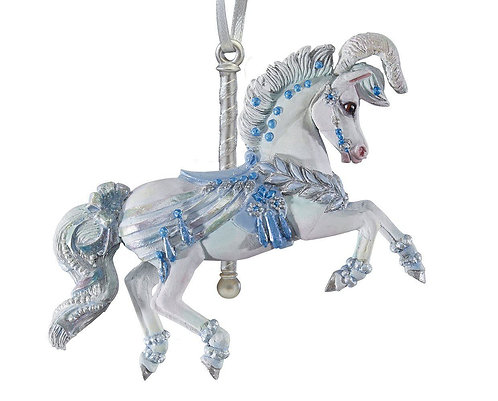 Winter Whimsy - Carousel Ornament