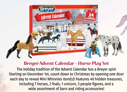 Horse Playset - Advent Calendar