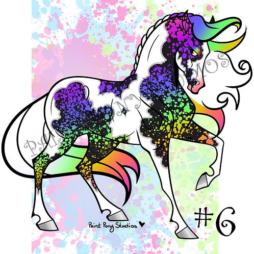 Arabian Adoptables - Rainbow Tobiano