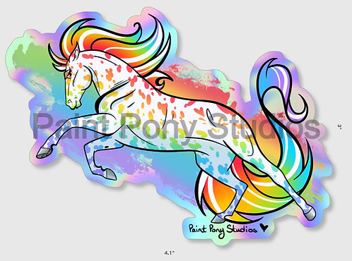 Horse of a Different Color | Vinyl Sticker