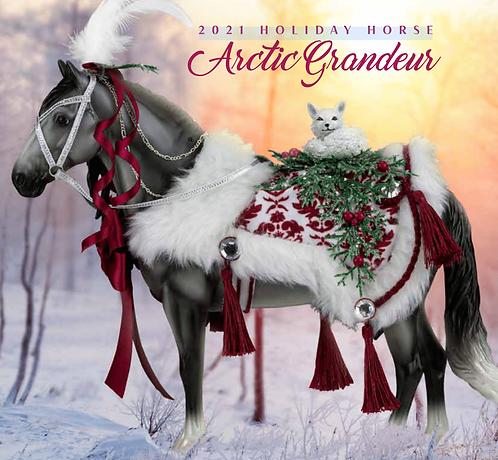Arctic Grandeur - 2021 Holiday Horse
