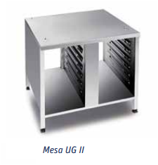 Mesa UG II – medidas de panadería Mod 61-101