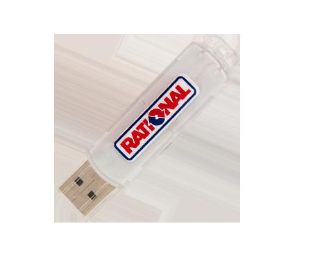 USB para la carga y descarga de programas