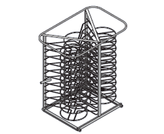 Rack móvil para platos