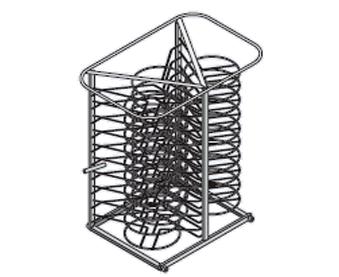 Rack móvil para platos Modelo 62-102