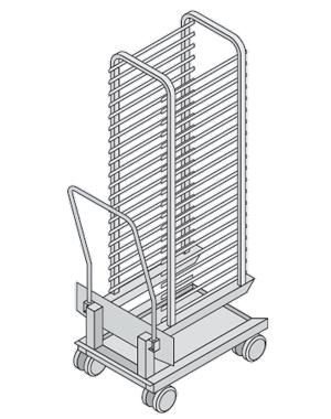 Racks móviles Modelo 202