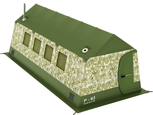 P-63 Expedition Tent & Stove