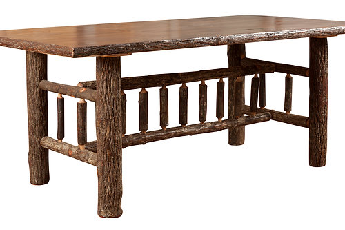 hickory dining table set. bundle priced hickory 72\ dining table set u