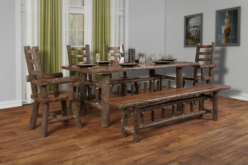 38x60 Hickory Dining Table