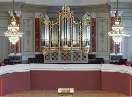 Interne Orgelpräsentation