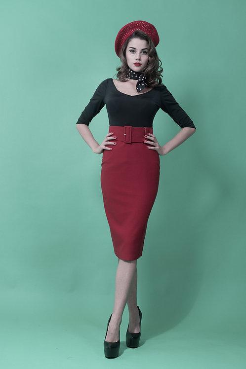 Falda TRACY roja