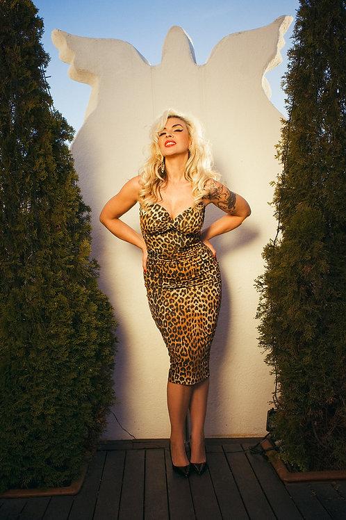 Vestido ESMERALDA leopardo 230€ - 70% = 69€