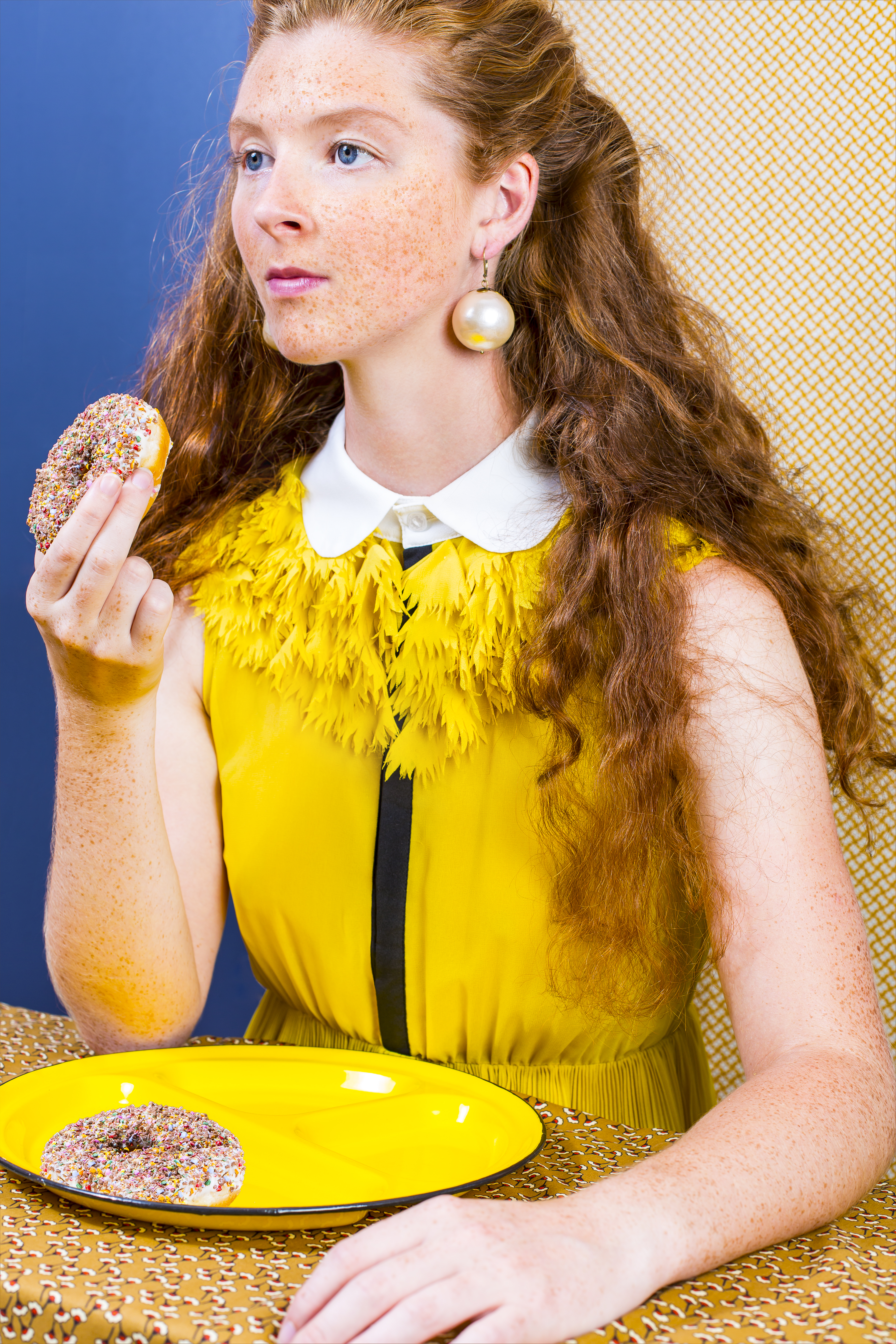 The Girl and the donut