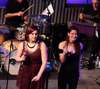 Backup singer for Natalie Weiss