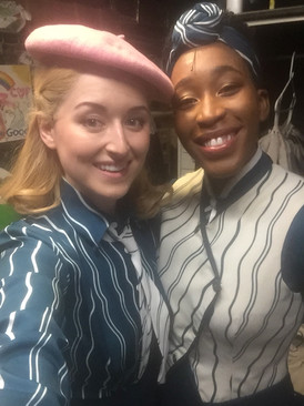 Backstage at Wicked