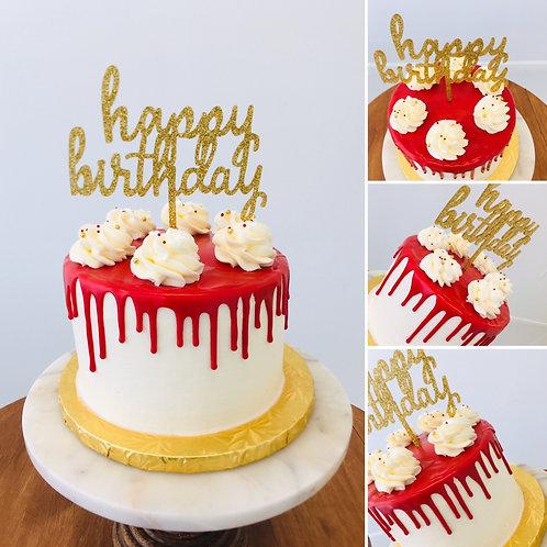 6-INCH DRIP CAKE