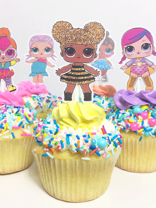 CHARACTER/ TOPPER CUPCAKES
