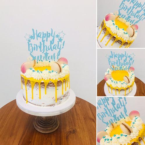 8-INCH DRIP CAKE