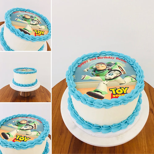 8-INCH CAKE (Edible Image)