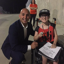 Marco Iannuzzi lends Grey Cup ring to Lions supporter Tiff