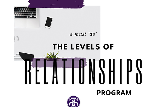 Levels of Relationships Course