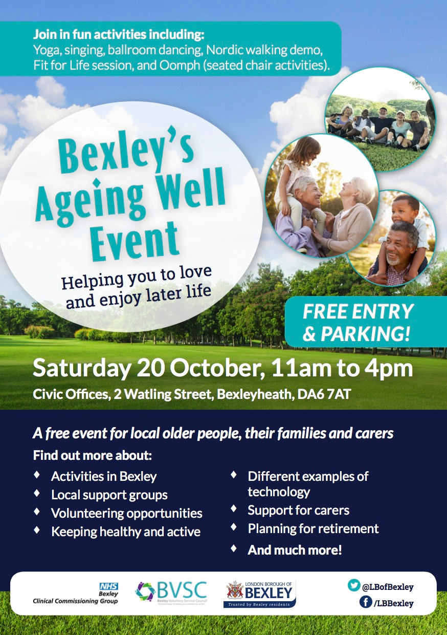 Bexley Ageing Well event 2018